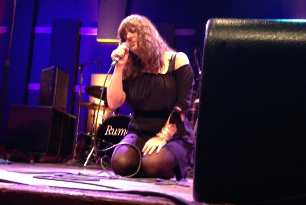 """Rumer closes the show with """"Thankful."""""""